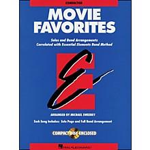 Hal Leonard Movie Favorites Conductor Book/CD