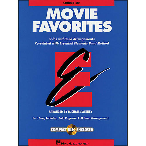 Hal Leonard Movie Favorites Conductor Book/CD-thumbnail
