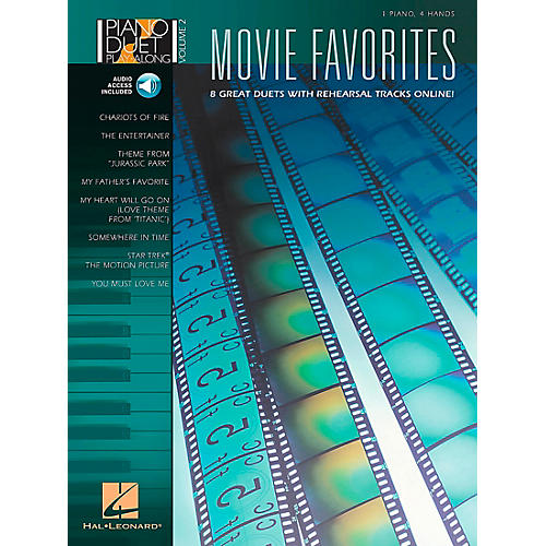 Hal Leonard Movie Favorites Piano Duet Play-Along Volume 2 Book/CD-thumbnail