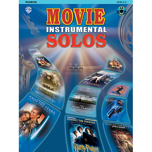 Alfred Movie Instrumental Solos Trombone Book & CD-thumbnail
