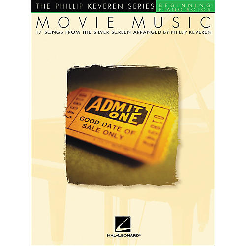 Hal Leonard Movie Music - The Phillip Keveren Series Beginning Piano Solos-thumbnail