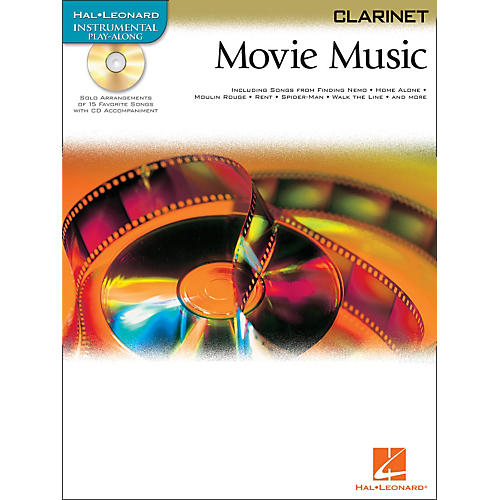 Hal Leonard Movie Music for Clarinet Book/CD