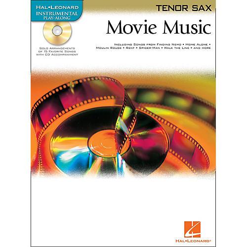 Hal Leonard Movie Music for Tenor Sax Book/CD-thumbnail