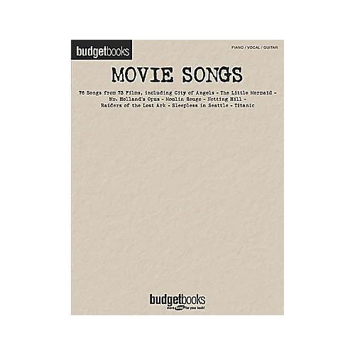 Hal Leonard Movie Songs Piano/Vocal/Guitar Songbook-thumbnail