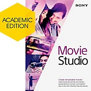 Sony Movie Studio 13 - Academic Software Download
