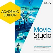 Sony Movie Studio 13 Platinum - Academic Software Download