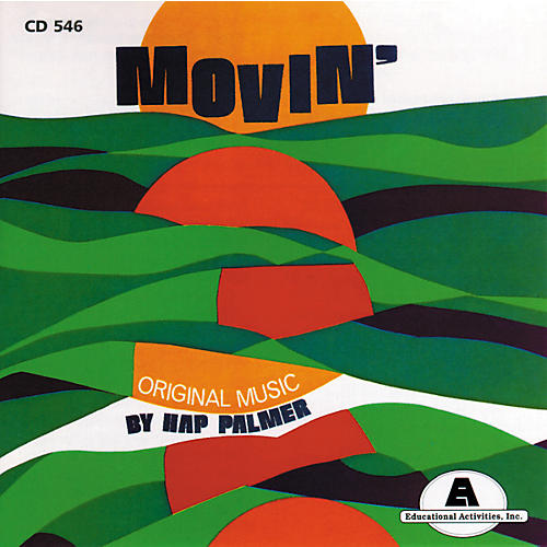 Educational Activities Movin' (CD)