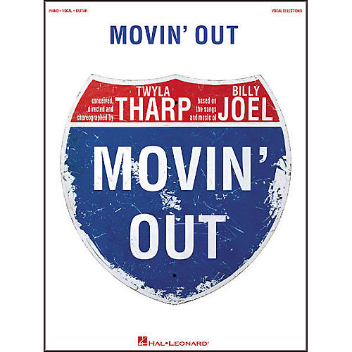 Hal Leonard Movin' Out Broadway Vocal Selections Book-thumbnail