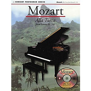 Music Sales Mozart: Alla Turca from Sonata K331 No. 32 Music Sales Amer...