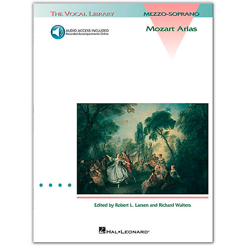 Hal Leonard Mozart Arias for Mezzo Soprano (Book/Online Audio)-thumbnail