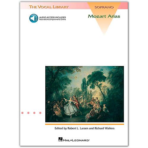 Hal Leonard Mozart Arias for Soprano Book/CD