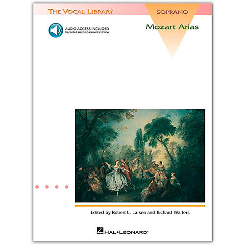 Hal Leonard Mozart Arias for Soprano (Book/Online Audio)-thumbnail