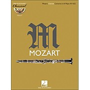 Hal Leonard Mozart: Clarinet Concerto In A Major, Kv 622 Classical Play-Along Book/CD Vol.4