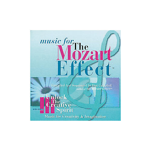 Children's Book Store Mozart Effect Volume 3 - Unlock the Creative Spirit-thumbnail