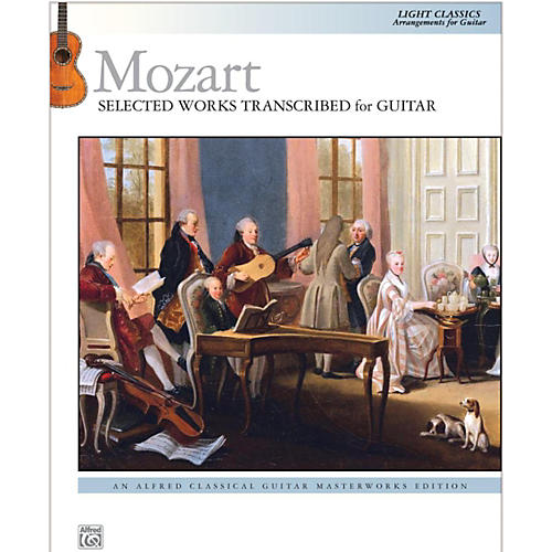 Alfred Mozart  Selected Works Transcribed for Guitar Book