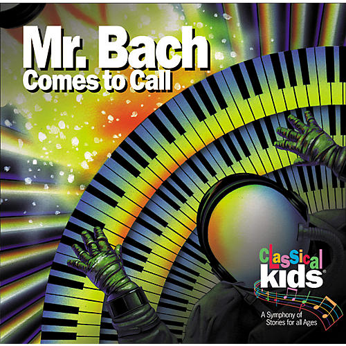 Children's Book Store Mr. Bach Comes to Call CD-thumbnail