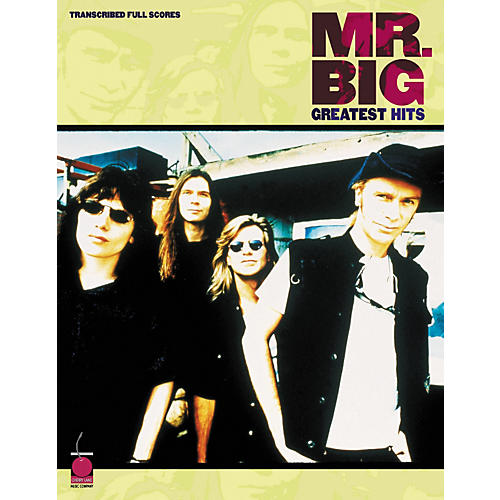Cherry Lane Mr. Big Greatest Hits in Full Score