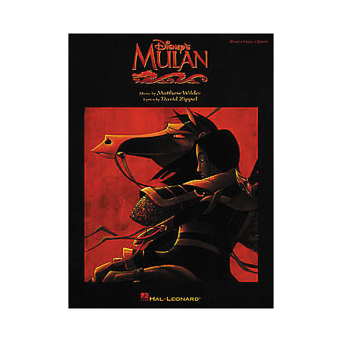 Hal Leonard Mulan Piano, Vocal, Guitar Songbook-thumbnail