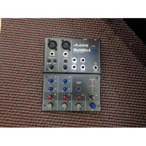 Alesis MultiMix 4 USB Compact Unpowered Mixer-thumbnail
