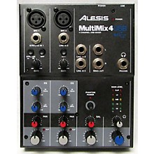 Alesis MultiMix 4 USB Compact Unpowered Mixer