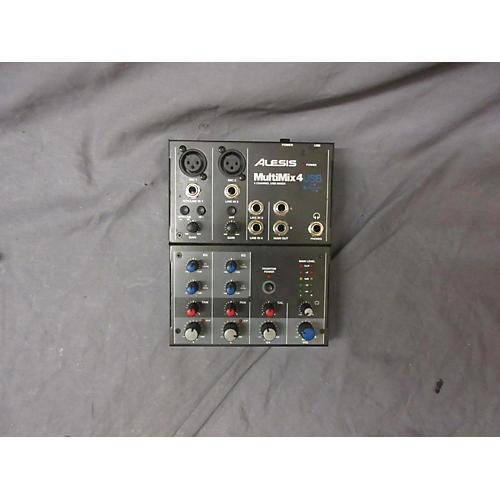 Alesis MultiMix 4 USB FX 4-Channel GREY Unpowered Mixer
