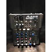 Alesis MultiMix 4 USB FX 4-Channel Unpowered Mixer