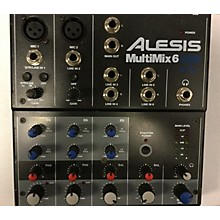 Alesis MultiMix 6 USB Unpowered Mixer