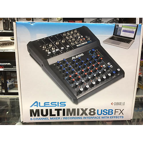 Alesis MultiMix 8 USB 8-Channel Unpowered Mixer-thumbnail