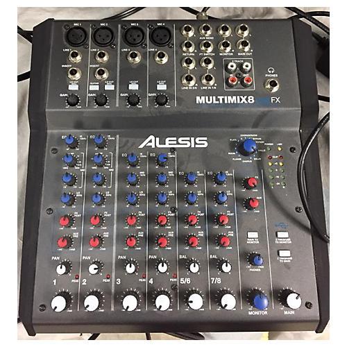 Alesis MultiMix 8 USB 8-Channel Unpowered Mixer