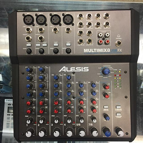 Alesis MultiMix 8 USB 8-Channel Unpowered Mixer-thumbnail