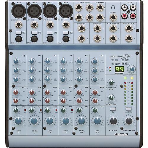 Alesis MultiMix 8FX Compact 6-Channel Mixer