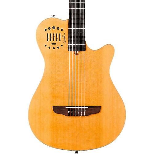 Godin Multiac Grand Concert Duet Ambiance Nylon String Acoustic-Electric Guitar-thumbnail