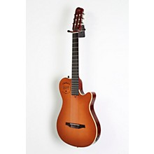 Godin Multiac Grand Concert Duet Ambiance Nylon String Acoustic-Electric Guitar Level 2 High Gloss Lightburst 190839106384