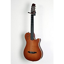 Multiac Grand Concert Duet Ambiance Nylon String Acoustic-Electric Guitar Level 2 High Gloss Lightburst 888365984032