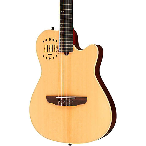 Godin Multiac Nylon Duet Ambiance Acoustic-Electric Guitar-thumbnail