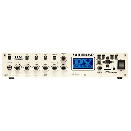 DV Mark Multiamp 3-Channel Preamp/Effects Processor/Power Amp-thumbnail