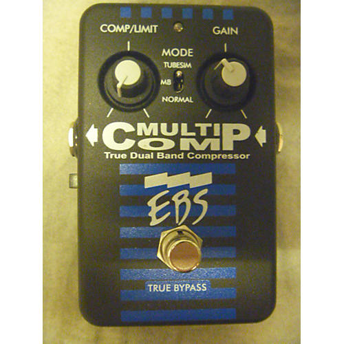 EBS Multicomp Compressor Bass Effect Pedal-thumbnail