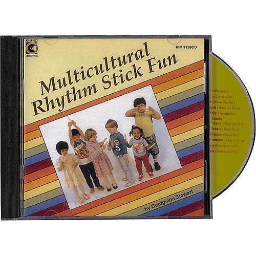 Kimbo Multicultural Rhythm Stick Fun