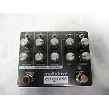 Empress Effects Multidrive Overdrive Effect Pedal