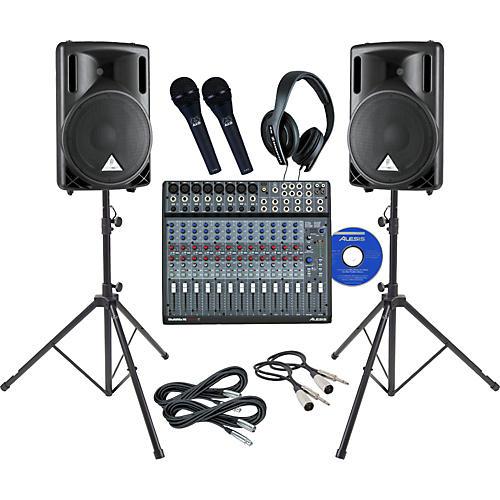 Alesis Multimix 16 Firewire Live Recording Bundle