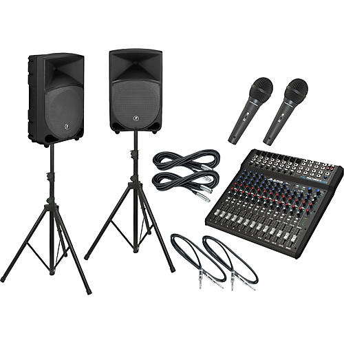 Alesis Multimix 16 USB FX / Thump TH-12A PA Package-thumbnail