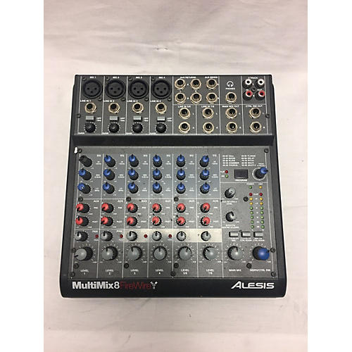 Alesis Multimix 8 Firewire Powered Mixer