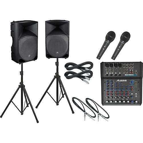 Alesis Multimix 8 USB FX / Thump TH-15A PA Package-thumbnail
