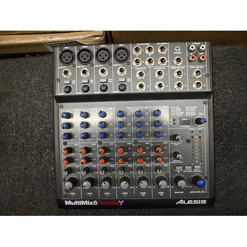 Alesis Multimix8 Firewire Digital Mixer-thumbnail