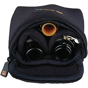 Protec Multiple Trombone/Alto Sax/Clarinet Mouthpiece Pouch by Protec