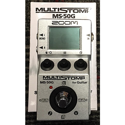 Zoom Multistomp Effect Processor-thumbnail