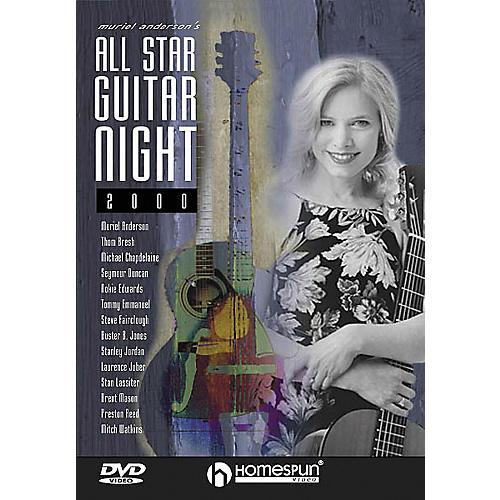 Homespun Muriel Anderson's All-Star Guitar Night, Concert 2000 (DVD)