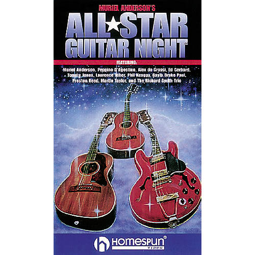 Hal Leonard Muriel Anderson's All Star Guitar Night Video