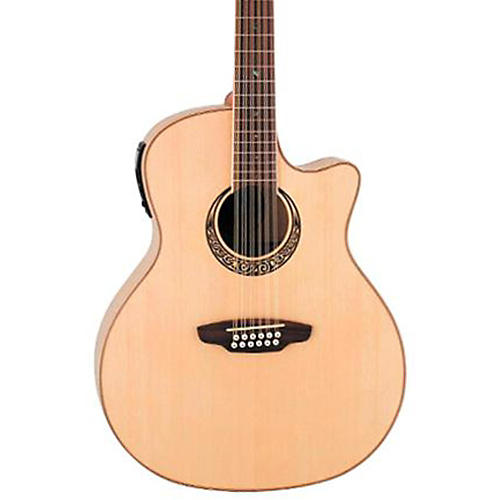 Luna Guitars Muse 12-String Acoustic-Electric Guitar