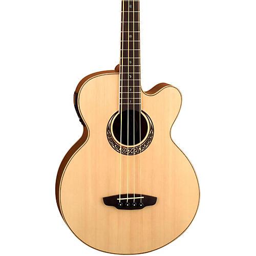 Luna Guitars Muse Acoustic-Electric Bass Guitar-thumbnail